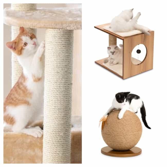 como fazer Arranhador para gatos