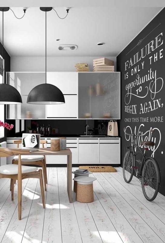 cozinha com parede lousa 06