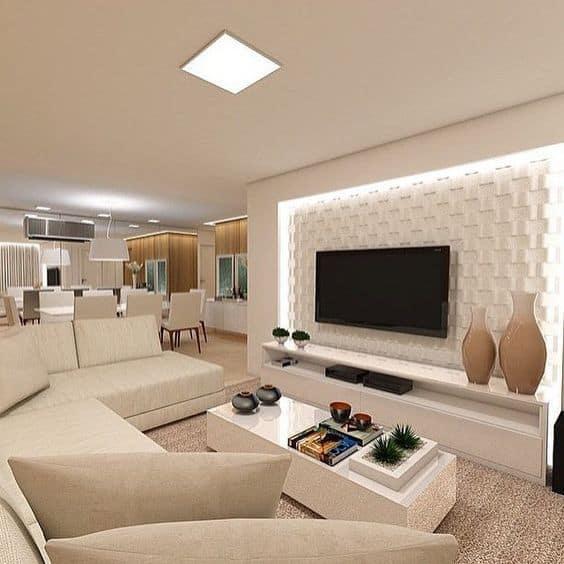 decoracao de sala de estar e tv 16