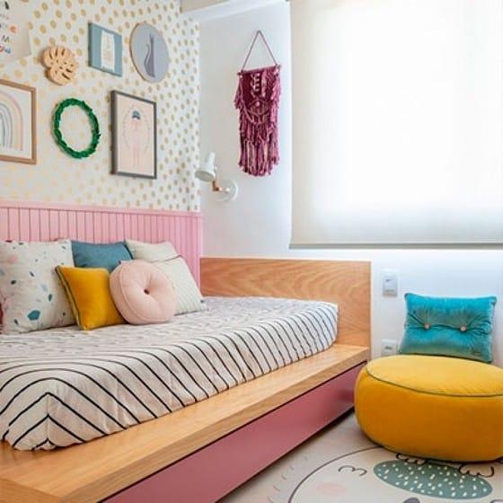 decoracao quarto infantil colorido cotar