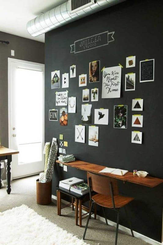 escritorio com parede lousa 25