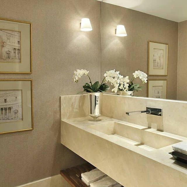 ivory color bathroom 40