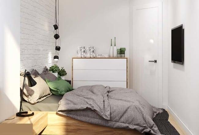 quarto pequeno decoracao 67