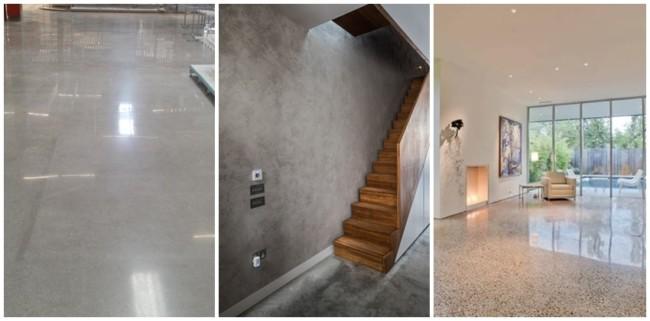 aplicacoes de concreto polido