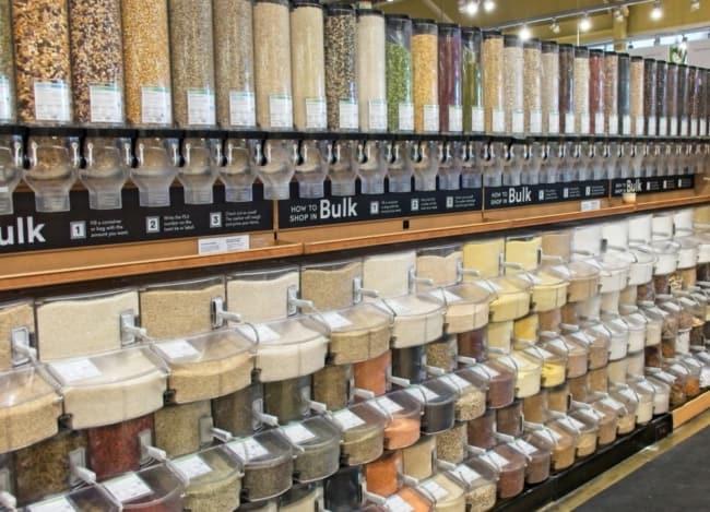 como organizar e expor produtos em lojas de produtos naturais