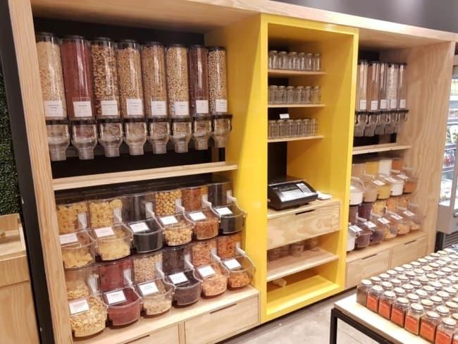 como organizar loja de produtos naturais