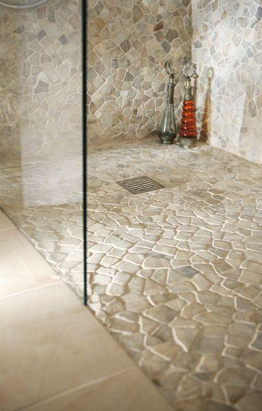 piso de pedras naturais