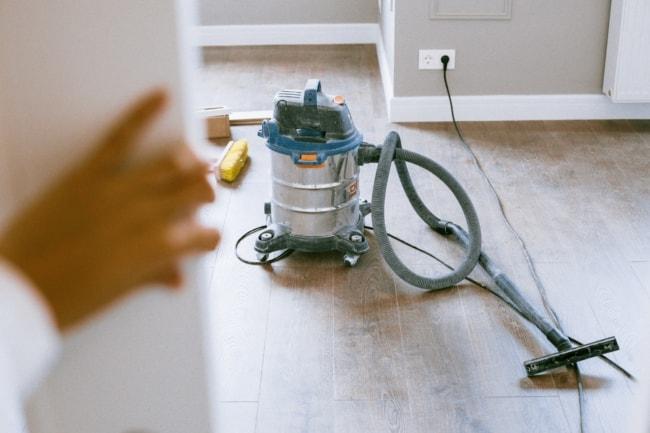 como fazer limpeza pos obra