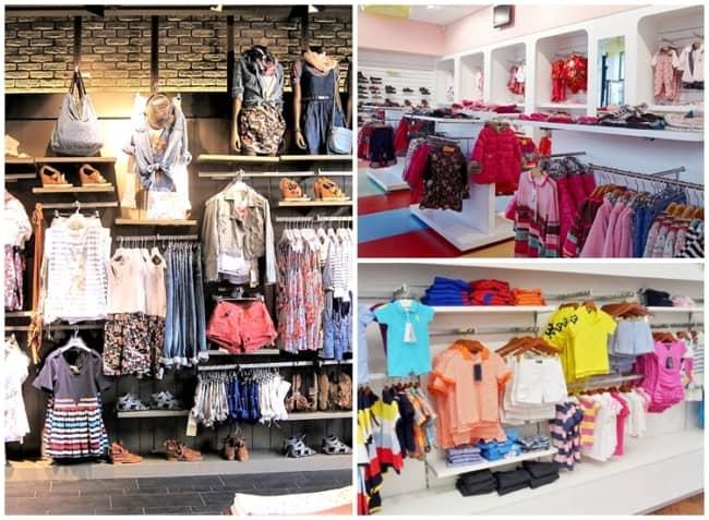 modelos de expositores para lojas de roupas