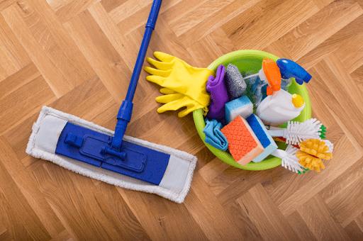 produtos para fazer limpeza pos obra