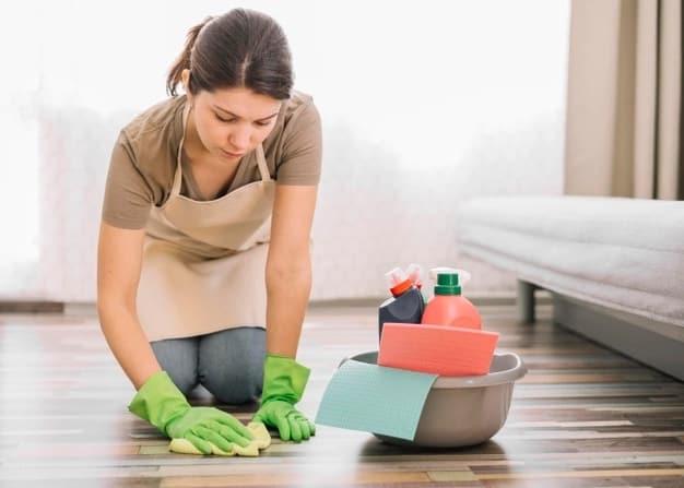 passo a passo para limpar a casa pos obra