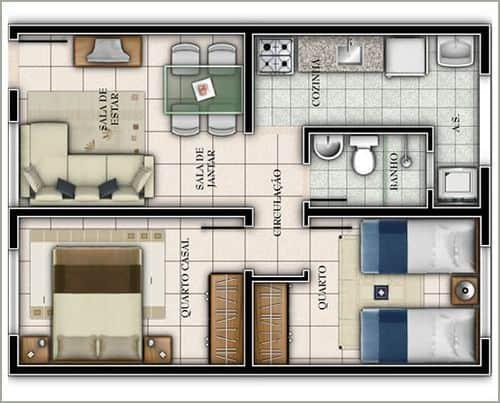 Casas pequenas podem ser a solucao para quem nao quer gastar