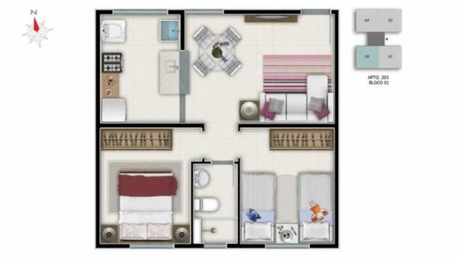 Outros modelos de casas pequenas