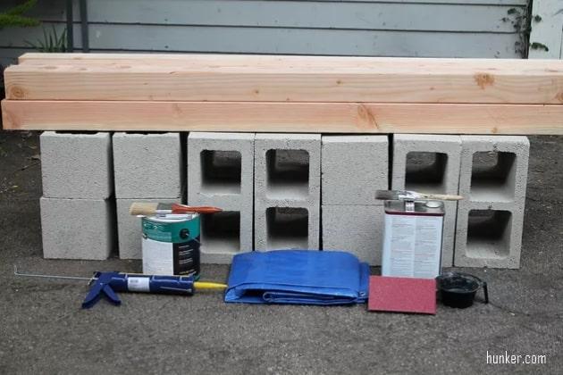 materiais para fazer banco de madeira simples