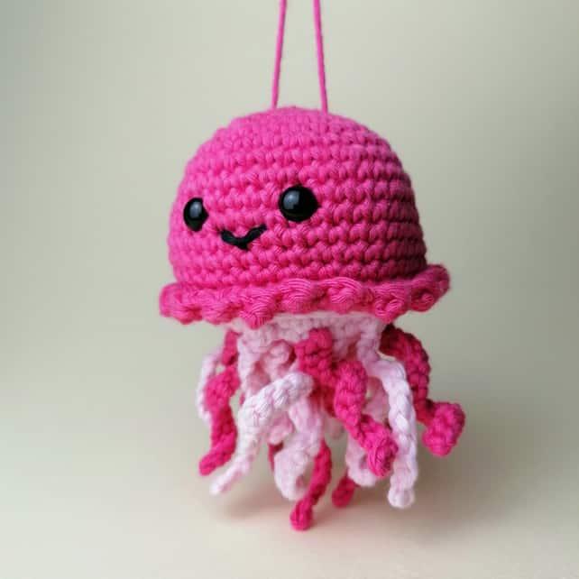 polvo de croche pink para bebe