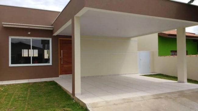 projeto de casa com garagem na frente
