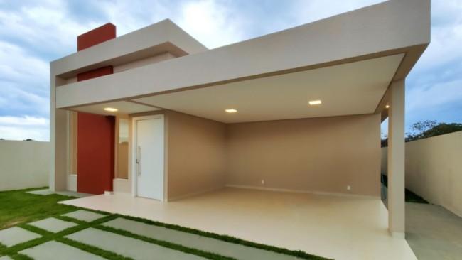 35 fachada casa moderna com garagem