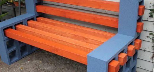 tutorial para fazer banco de madeira simples