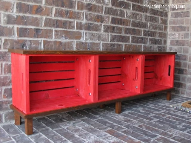 modelo de banco de madeira DIY