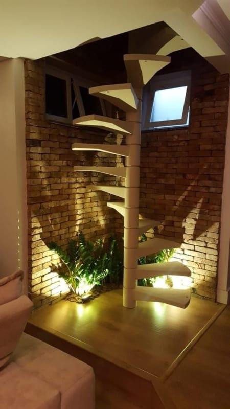 escada caracol pre fabricada em concreto
