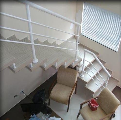 18 escada em L pre moldada