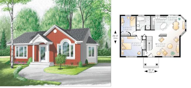projeto casa americana com conceito aberto
