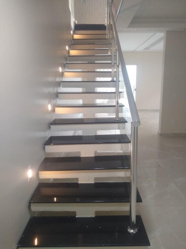 escada reta pre moldada