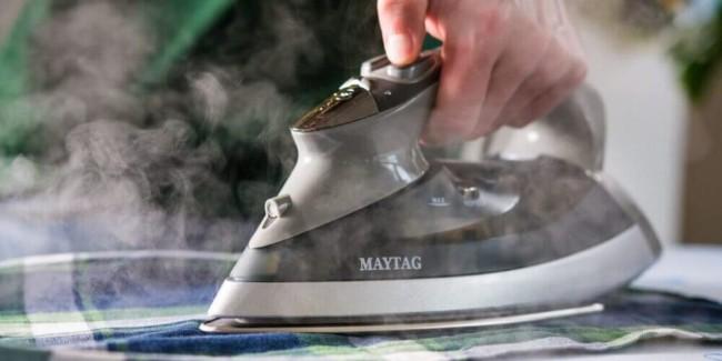 como passar roupa com ferro a vapor