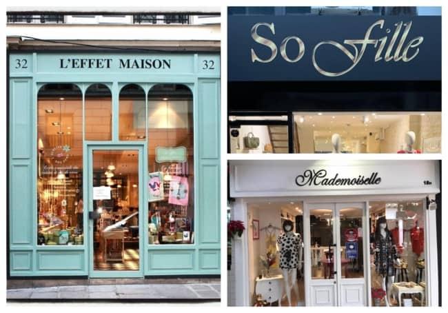 Nomes de lojas femininas francesas 4