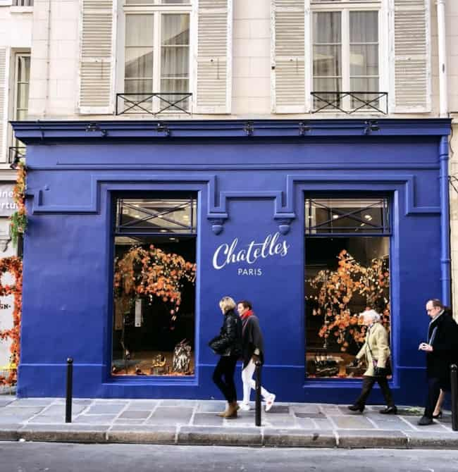 Nomes de lojas femininas francesas veja essa fachada