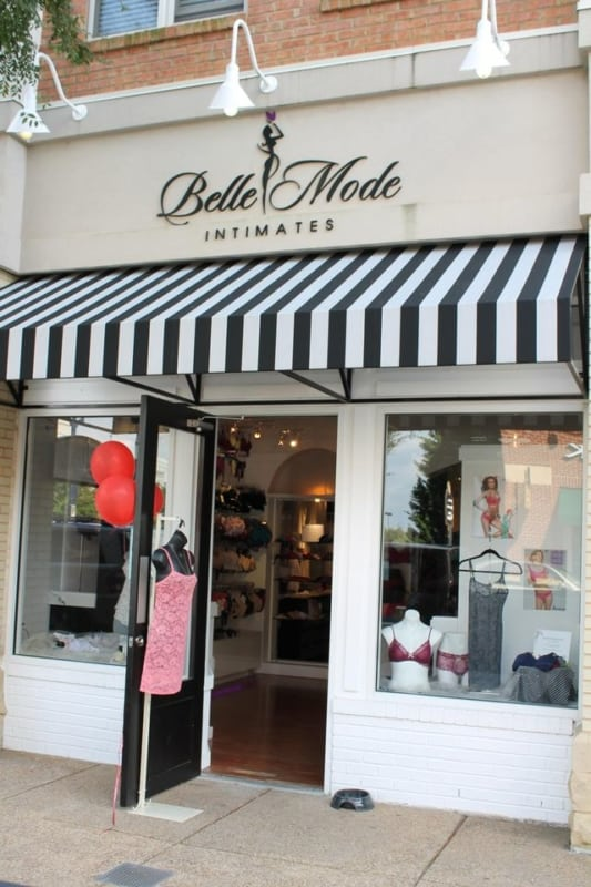 Nomes de lojas femininas francesas veja esse exemplo de fachada