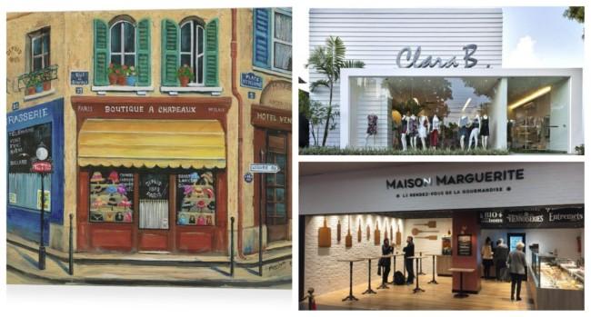 Nomes de lojas femininas francesas