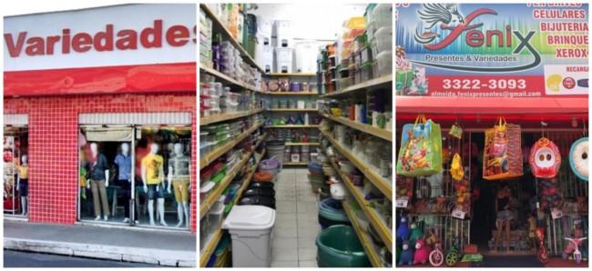 lojas de variedades