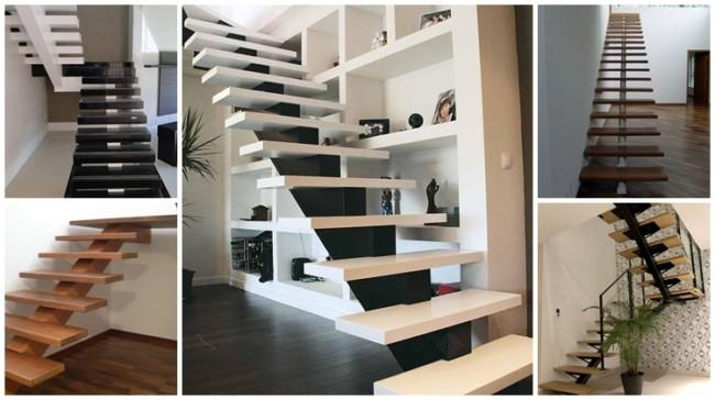 escada espinha de peixe