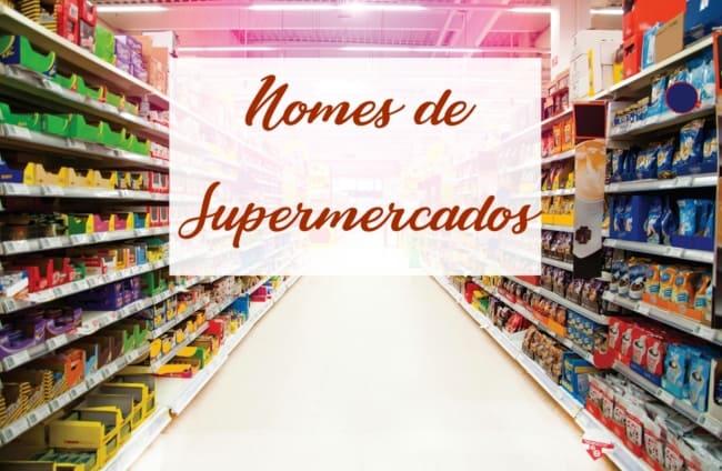 nomes de supermercados