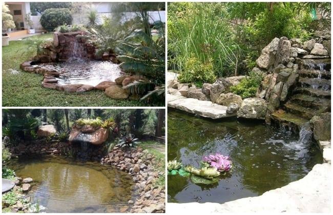 cascata para jardim grande