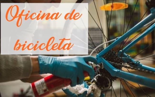 dicas para oficina de bicicleta