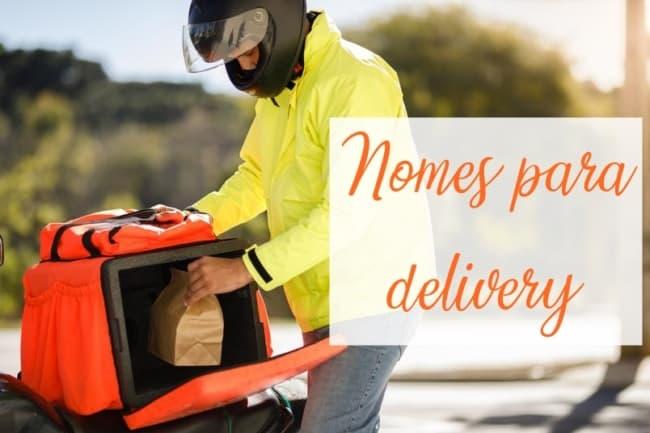 ideias de nomes para delivery
