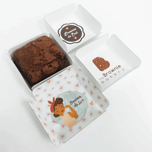 brownie em caixinha personalizada