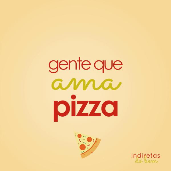 frase de pizza curta