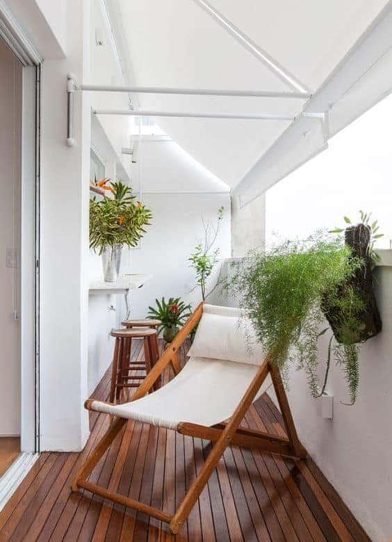 cadeira reclinavel confortavel para varanda