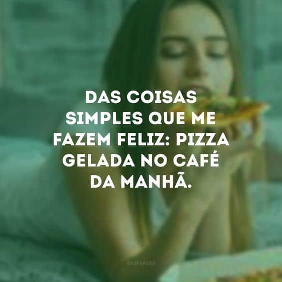 imagem e frase de pizza