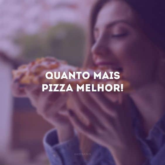 foto de pizza para instagram