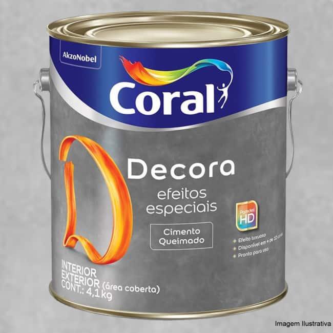 tinta cimento queimado Coral