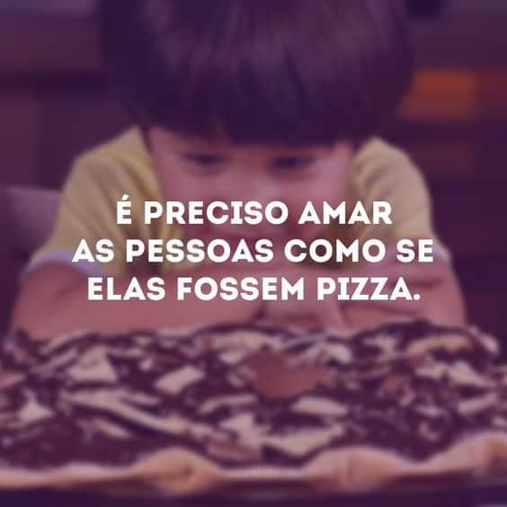 frase de pizza