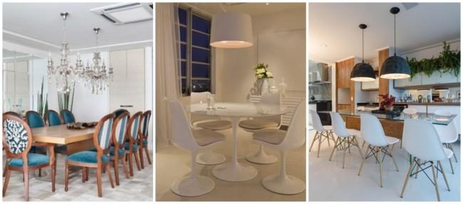 cadeiras confortaveis para sala de jantar