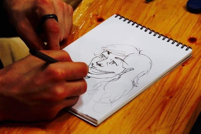 como ganhar dinheiro desenhando caricaturas