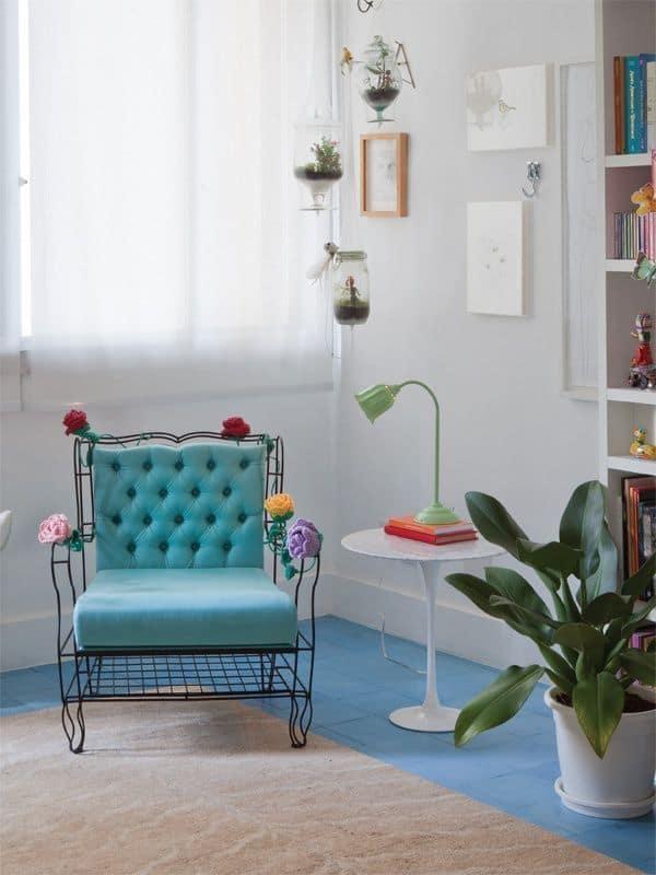 cadeira para cantinho da leitura