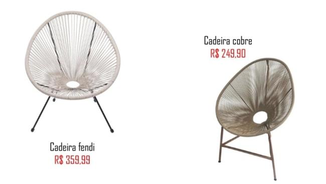 modelos e precos de cadeira acapulco