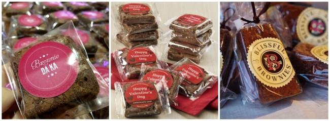 embalagem transparente para brownie